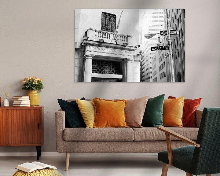 Sfeerimpressie: Wall street van Laura Vink