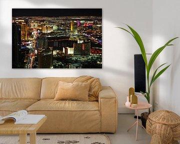 Las Vegas by Night van Yvonne Smits