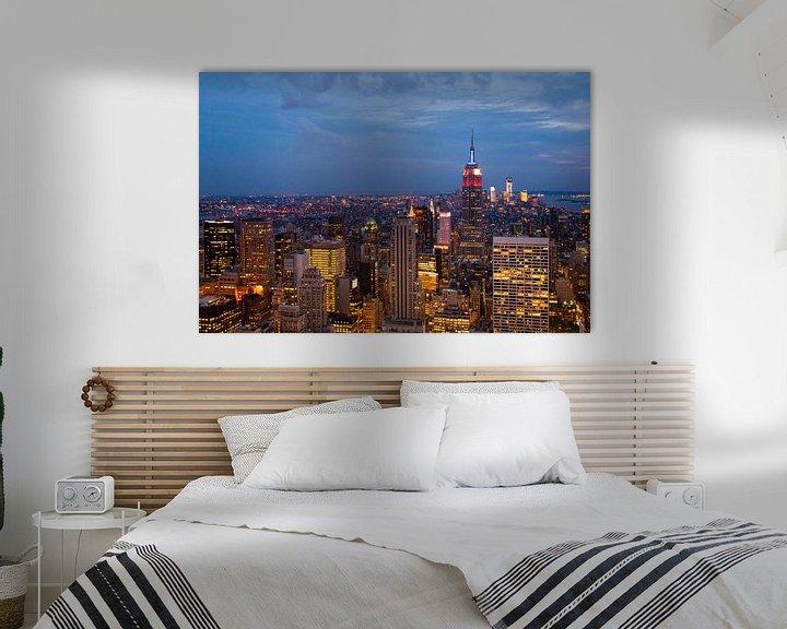 Sfeerimpressie: New York by Night. van Laura Vink