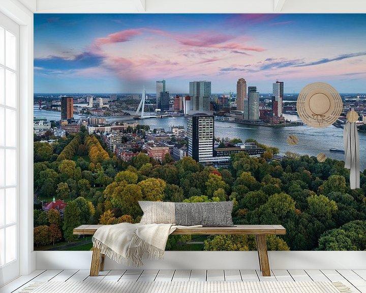 Beispiel fototapete: Herbst in Rotterdam von Rob de Voogd / zzapback