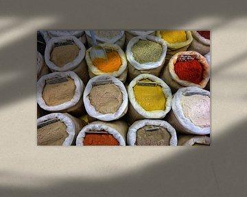 Kleurrijke specerijen van P.D. de Jong