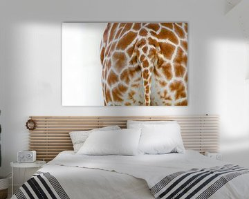 Giraffe Staart von Ron Veltkamp