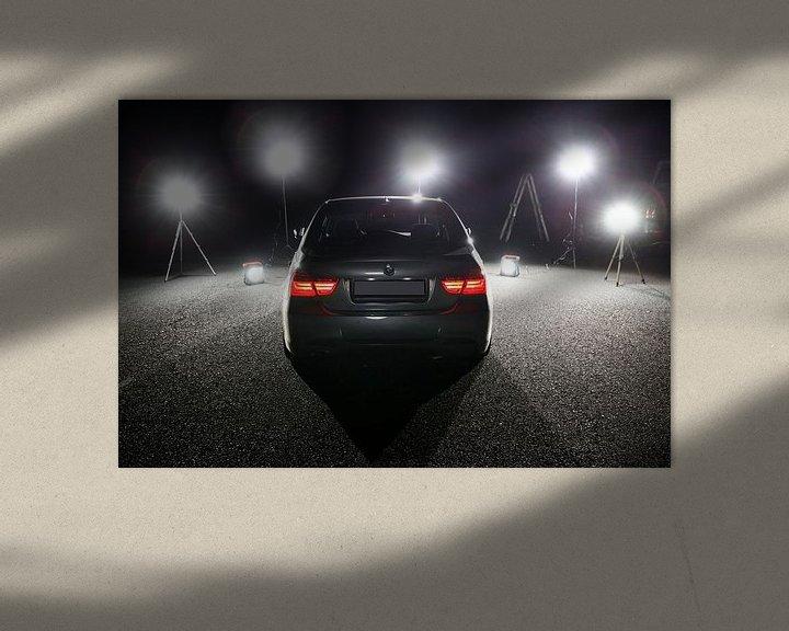 Beispiel: BMW E90 - 3er BMW am Set von Erich Werner