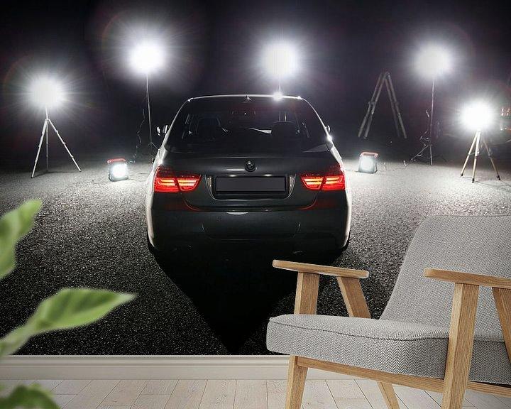 Beispiel fototapete: BMW E90 - 3er BMW am Set von Erich Werner