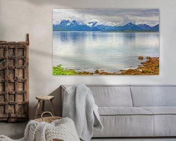 The Mountains of Hinnøya van Gisela Scheffbuch