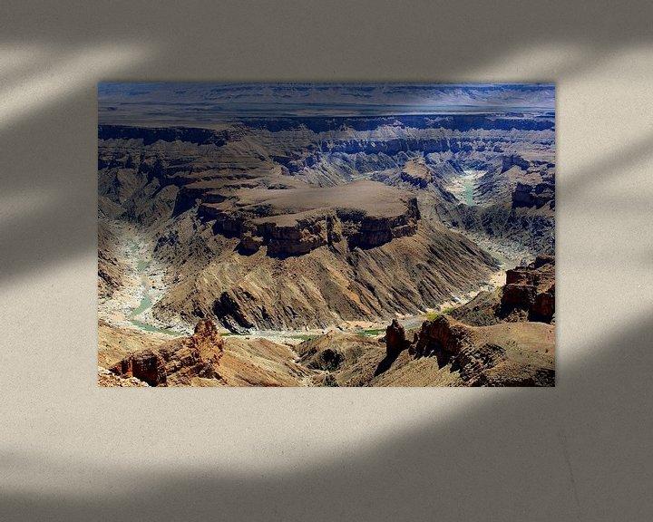Beispiel: Fischfluss-Canyon, Namibia von Inge Hogenbijl