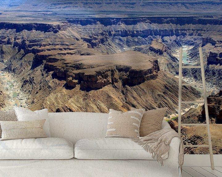 Beispiel fototapete: Fischfluss-Canyon, Namibia von Inge Hogenbijl