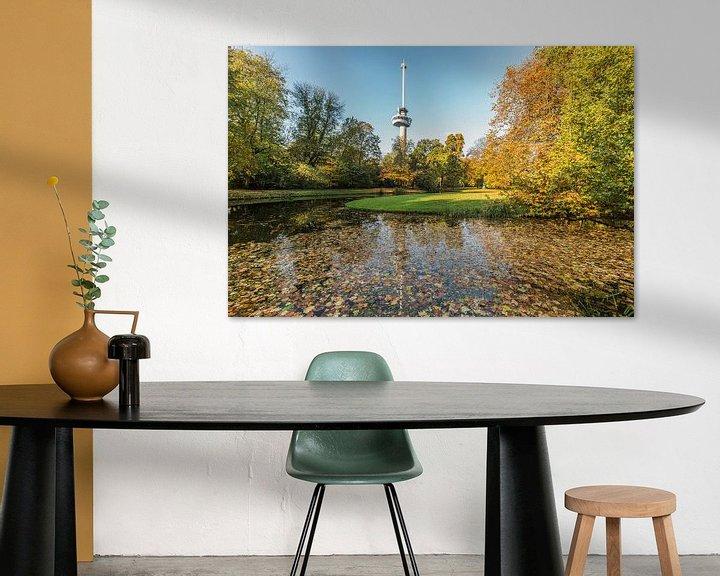 Sfeerimpressie: Herfst in het Park bij de Euromast in Rotterdam van MS Fotografie   Marc van der Stelt