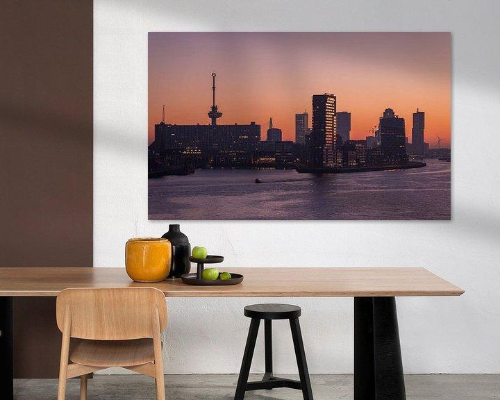 Sfeerimpressie: De zonsopkomst in Rotterdam van MS Fotografie | Marc van der Stelt