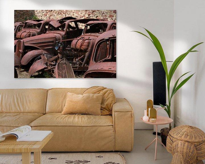 Sfeerimpressie: Oradour-sur-Glane van Michelle Peeters