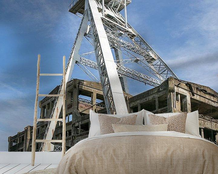 Beispiel fototapete: Koolmijn Waterschei von Michelle Peeters
