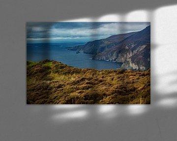 Slieve League   Ierland van By Foto Joukje
