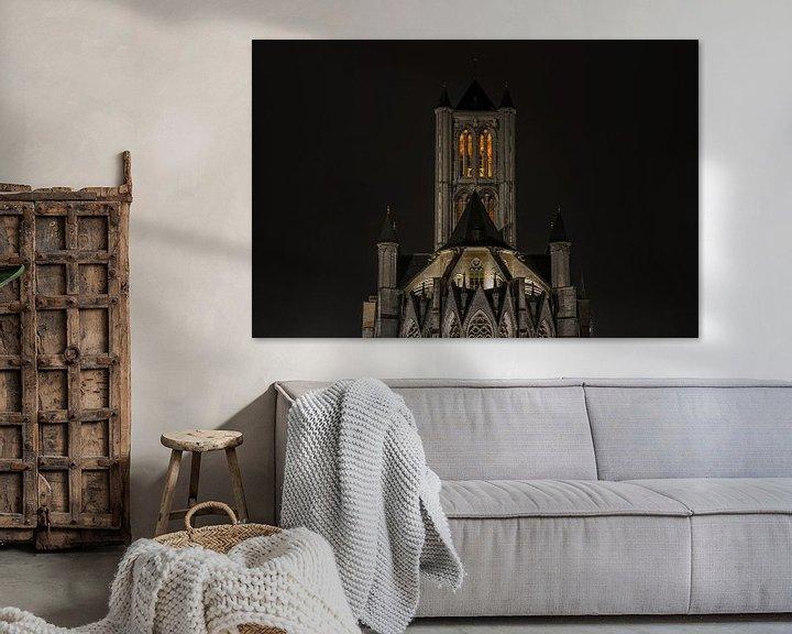 Sfeerimpressie: De Sint-Niklaaskerk in Gent van MS Fotografie   Marc van der Stelt