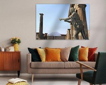 Romeins standbeeld in Pompeï von Gert-Jan Siesling