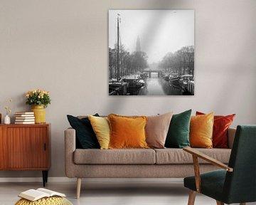 Prinsengracht - Westertoren sur Hugo Lingeman