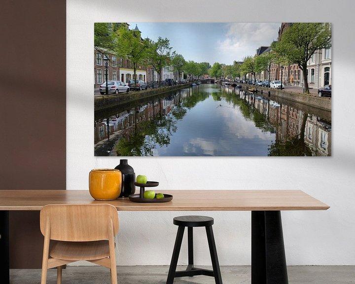 Impression: Canal d'Alkmaar sur Paul Franke