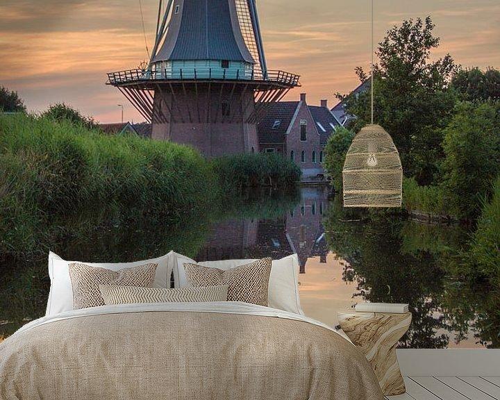 """Impression: Moulin """"L'Ange d'Or"""" sous le soleil du soir sur Paul Franke"""