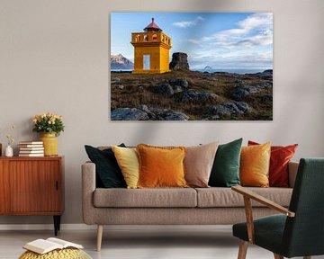 Icelandic Lighthouse van Marc Arts