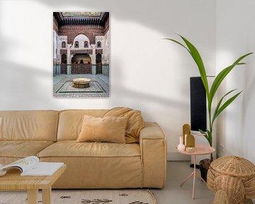 Alte Koranschule in Meknes, Marokko von Rietje Bulthuis