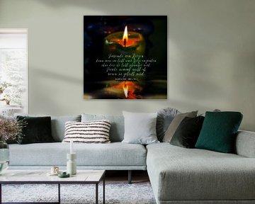 Buddha - Tausende von Kerzen...... von Christine Nöhmeier