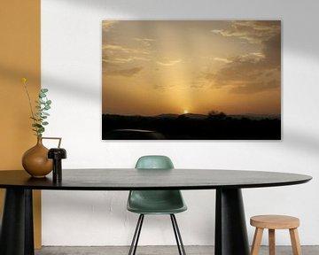 Sunset Spain van Aurelie Vandaele