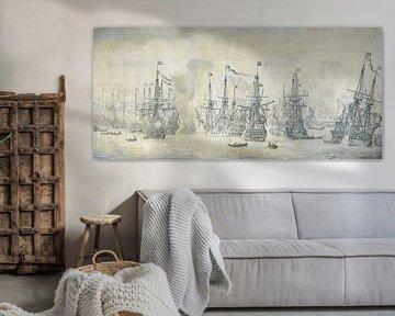 Fehlgeschlagener englischer Angriff auf die VOC-Flotte