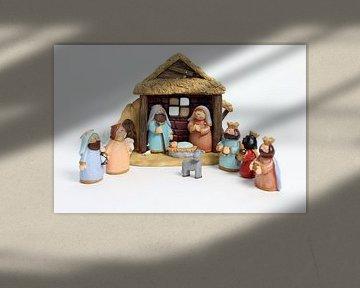 kerststal von laura van klooster