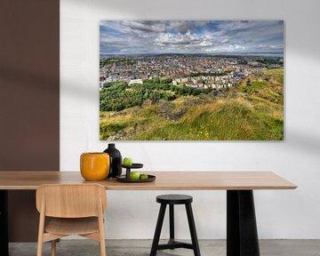 Uitzicht over Edinburgh von Jan Kranendonk