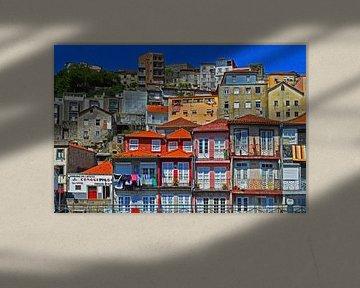 Porto landschap van Vera Cerutti