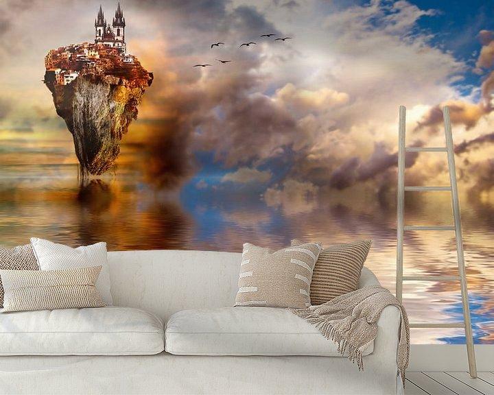 Sfeerimpressie behang: Other Worlds van Jacky