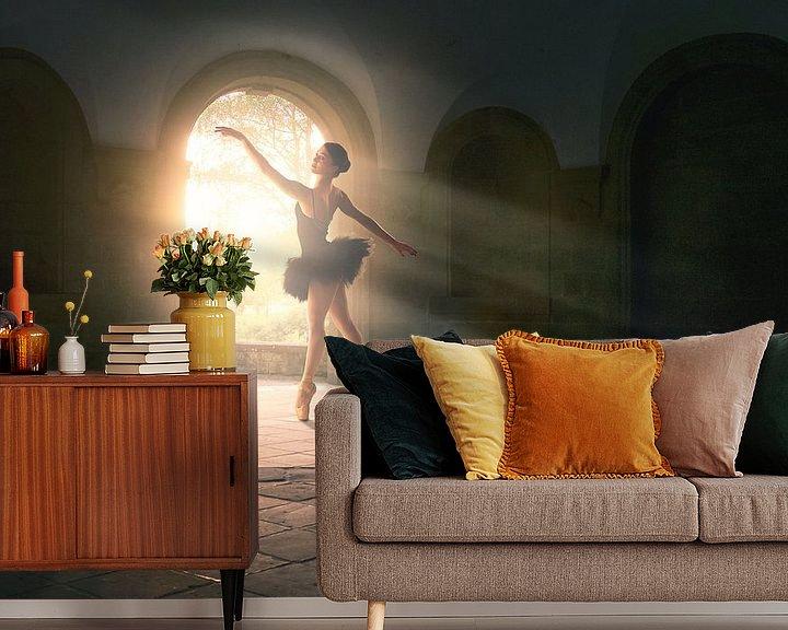 Beispiel fototapete: Magisches Licht Tanz von Arjen Roos