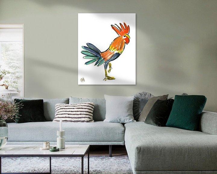 Sfeerimpressie: Le Cock! van Hans Kool