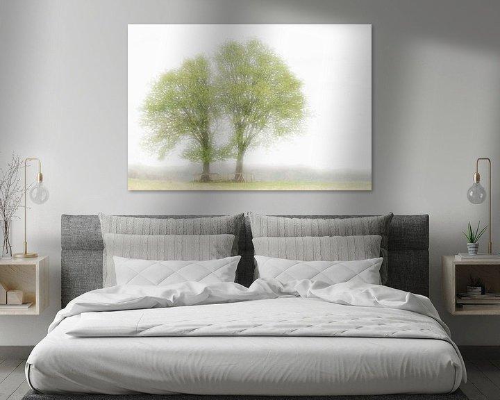 Beispiel: Twin trees during spring von Boudewijn Swanenburg
