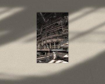 Verbrandingsoven cokesfabriek Urbex van Olivier Photography