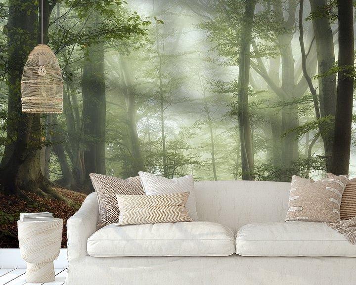 Sfeerimpressie behang: Dawn of Autumn. van Inge Bovens