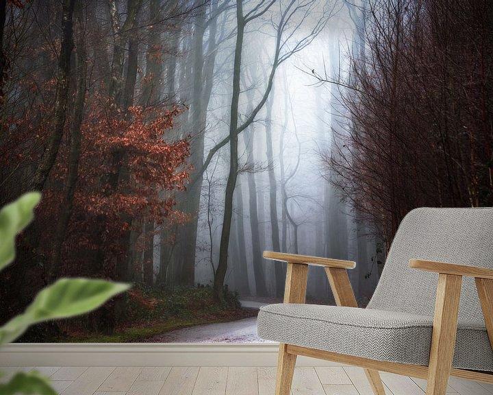Sfeerimpressie behang: December Days. van Inge Bovens