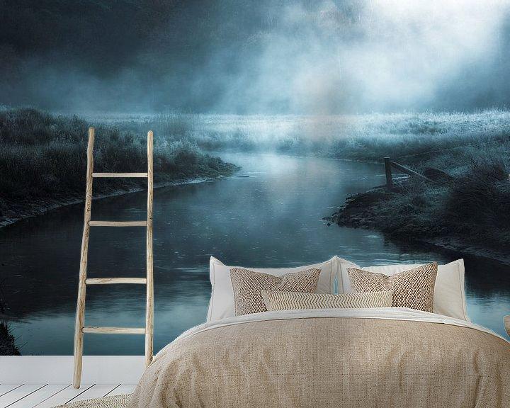 Sfeerimpressie behang: Nocturnal Spirits. van Inge Bovens