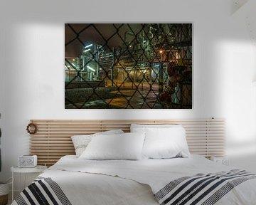 Industriële nacht-02 van Björn Massuger