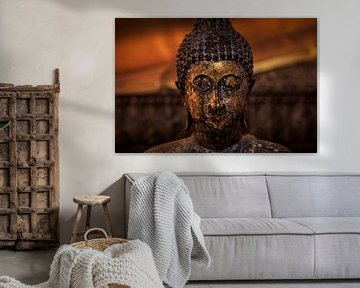 Boeddha in Wat Pho van Jeroen Langeveld, MrLangeveldPhoto