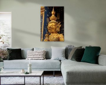 Garuda in Wat Phra Kaew, Bangkok van Jeroen Langeveld, MrLangeveldPhoto