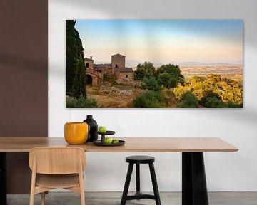 Toscaans landschap sur Evert Jan Kip