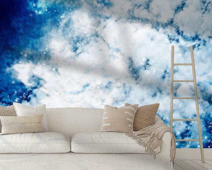 Beispiel fototapete: cloudy sky von Patricia Verbruggen