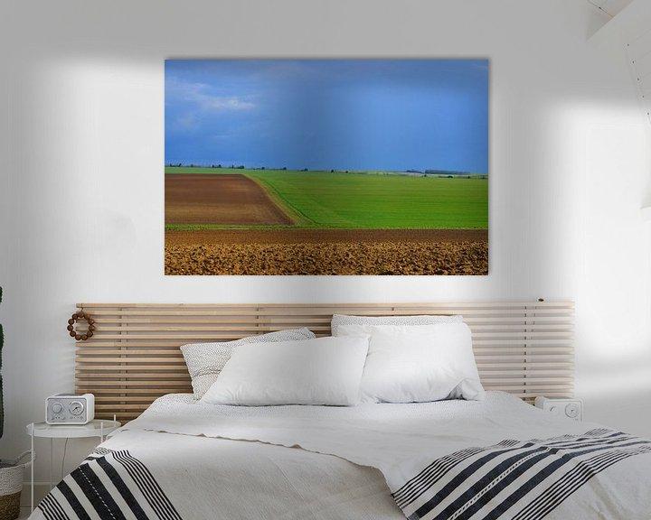 Impression: Landshaft in Nordfrankreich. sur Abe Maaijen