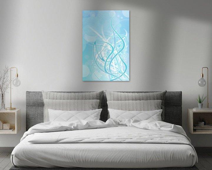Beispiel: icey blue twirls von Patricia Verbruggen