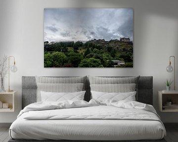 Edinburgh castle von Jeffrey de Graaf