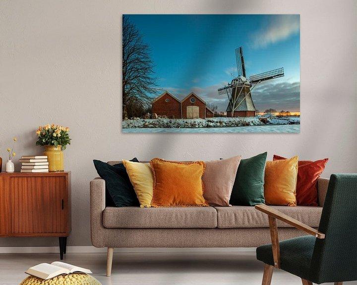 Sfeerimpressie: Hollandse winter van Marc Smits