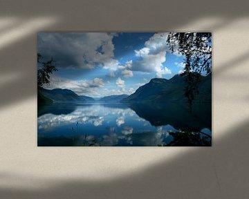 Harmonie tussen lucht en water van Kvinne Fotografie