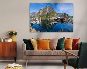 Lofoten pittoresque en Norvège sur Hilda Weges