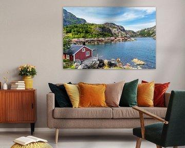 UNESCO Wereld Erfgoed Nusfjord Noorwegen van Hilda Weges