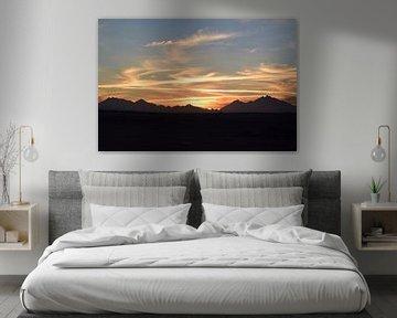 Zonsondergang van Monja Bussel